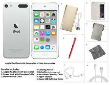 Apple iPod touch 32 GB-ARGENTO + EXTRA ACCESSORI, 6a gen. * nuovo modello 2015