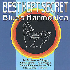 Tad Robinson, Mark DuFresne...-Best Kept Secret Blues Harmonica CD NEW