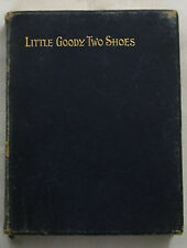 The History of Little Goody Two Shoes Oliver Goldsmith Leather circa 1906 RARE