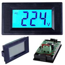 Digital Voltmeter AC 80-500V LCD Display Voltage Volt Digital Panel Meter