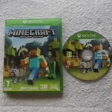 Minecraft XBOX ONE edition V.G.C. fast post (kids action/jeu d'aventure)