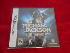 MICHAEL JACKSON THE EXPERIENCE NINTENDO DS FACTORY SEALED!!!  C@@L!!!!!