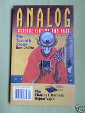 ANALOG - SCIENCE FICTION & FACT MAG  -OCT 2000 - RON COLLINS - CHARLES L HARNESS