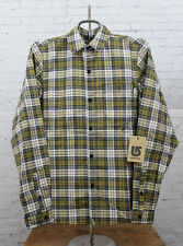 New Burton Womens Splinter Long Sleeve Flannel Shirt Medium Blazed Catch Plaid