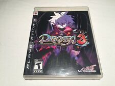 Disgaea 3: Absence of Justice (Playstation PS3) Complete LN Perfect Mint!