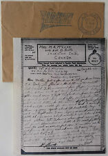 CANADA 1943 LIEUTENANT McLEAN MACHINE GUN COMPANY MILETELLA ITALY AIRGRAPH