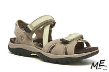 New Timberland Castle Rock Grey Women Sandals Sz 7 (MSRP $160)