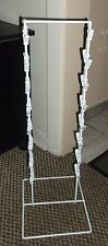 Chip Jewelry Rack Counter Top Display Two Sided 32 Clips White Unbranded  USA