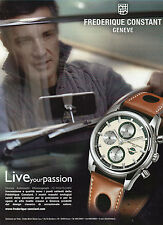 LA MANOVELLA-PUBBLICITA'/ADVERTISING-2008- FREDERIQUE CONSTANT HEALEY AUTOMATIC