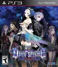 Odin Sphere Leifthrasir [PlayStation 3 PS3, Action RPG, ATLUS x Vanillaware] NEW