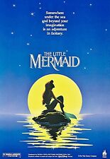 THE LITTLE MERMAID LAMINATED MINI MOVIE POSTER DISNEY no 3