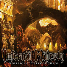Infernal Majesty - Nigrescent Years of Chaos, 1986 (Can), CD