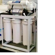 Light Commercial Reverse Osmosis Water Filter System 200 GPD Booster Pump USA