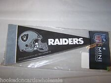 Oakland Raiders Mini Pennant - 8 Piece Set NFL Brand New