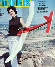 "Vintage NOMAD & JAVAL AERO TWO 72"" Power Pod RC Gliders Model Airplane PLANS"