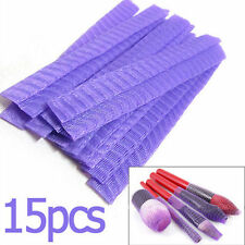 15x Make Up Brush Protectors- Cosmetic Beauty Netting Sheath Guard Mesh Cover-UK