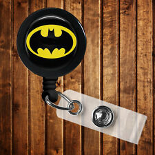 Batman inspired Badge Reel 4 Lanyard Movie Deadpool Superman Wonder Woman