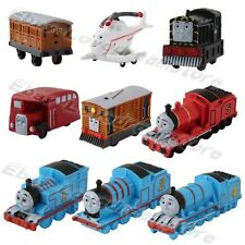 Set Of 9pcs Thomas & Friends Mini Trains and Coal Car 4cm-6cm PVC Figure Kid Toy