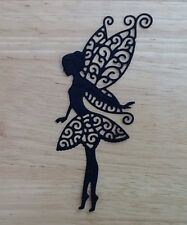 Die cut Silhouette Fairy Tinks card toppers Card Making Embellishments invites