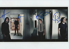 The Boxer Rebellion Band full signed 8x12 inch photo autograph