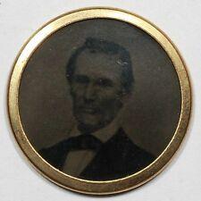 1860 Abraham Lincoln Brass button