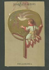 1880's Trade Card Sharpless & Sons Dry Goods Philadelphia Pennsylvania