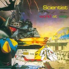 SCIENTIST - World At War LP + CD - 45 RPM - Sly & Robbie Channel One - IMPORT