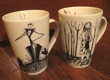 The Nightmare Before Christmas Jack Skellington Sally Mugs Cups Graveyard Disney