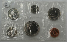 1977 Canada Mint Set- Proof Like- Uncirculated Coin Set
