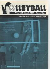 VOLLEYBALL MAGAZINE - March 1981