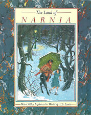 The Land of NARNIA Brian Sibley Explores the World of C.S. Lewis hc/dj 1st edit