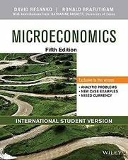 Microeconomics by David Besanko and Ronald Braeutigam (2013, Paperback)