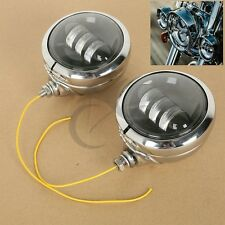"4-1/2"" 30W LED Auxiliary Driving Spot Fog Passing Light Lamp For Harley Davidson"