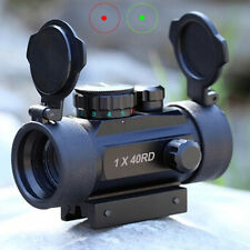 Tactical Holographic Reflex Green Red 1x40RD Illuminate Dot Sight Scope Upgraded
