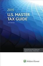 U. S. Master Tax Guide (2015) (2014, Paperback, Annotated)