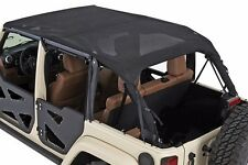 Smittybilt Mesh Extended Shade Screen Top 2007-2009 4dr Jeep Wrangler JK 94500