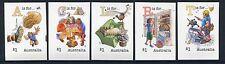 2016 Fair Dinkum Aussie Alphabet Part II - Set of 5  Booklet Stamps