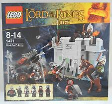 LEGO 9471 URUK-HAI ARMY Set Lord Of The Rings LOTR Orcs Eomer Rohan Soldier NEW