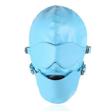 New Bondage Fetish Hood / Mask with Removable Eye mask, and Internal Ball Gag.