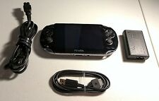Sony Playstation Vita Black Firmware FW 3.60 Henkaku Game System PCH-1001 #CX