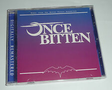 ONCE BITTEN - Soundtrack CD 18 TRACKS hubert kah 3 speed real life two of us OST