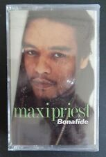 MAXI PRIEST Bonafide SEALED Music Cassette 1990 Vintage NEW Free Shipping