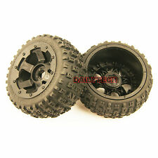 Rear Off road Knobby Tyre Tire Wheel fits HPI King Motor Rovan Baja 5B SS