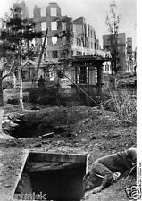 Shelter Stalingrad Russia German Photo 1942 World War 2 Reprint Photo 6x4 Inch