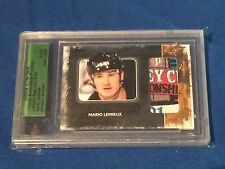Mario Lemieux 08/09 ITG Ultimate Memorabilia 9th Ed Stanley Cup Patch 1/1