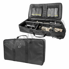 VISM NcSTAR Range Padded Carry Bag Discreet Padded Carbine Rifle Gun Case Black
