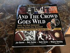 """And the Crowd Goes Wild""  Sports Events BOOK & CD -"