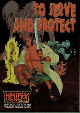 CL1 tarjeta de cargador de caso Hellboy animado