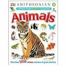 Ultimate Sticker Activity Collection: Animals (Ultimate Sticker Collections), DK