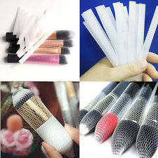 20X New Makeup Cosmetic Beauty Brush Pen Guards Sheath Mesh Net Protector Cover